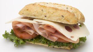 Le sandwich jambon-fromage ne pourra plus traverser la frontière de l'Union européenne en provenance du Royaume-Uni, à partir du 1er janvier 2021. (FOODCOLLECTION GESMBH / AFP)