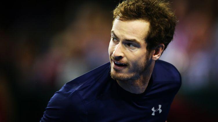 Andy Murray a expliqué qu'il pourrait renoncer au Masters qui s'achèvera moins d'une semaine avant la finale de la Coupe Davis (IAN MACNICOL / AFP)