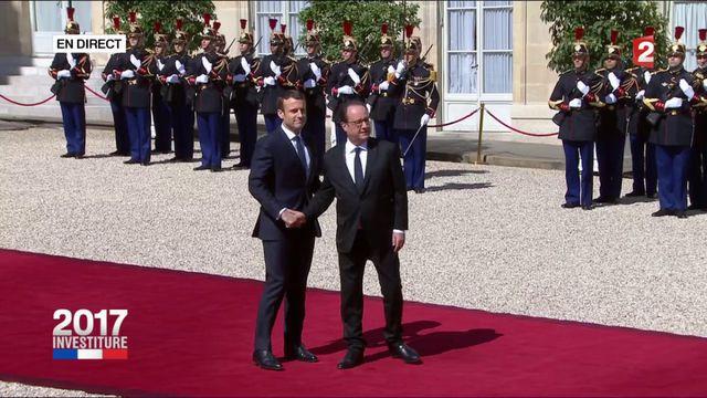 François Hollande quitte l'Elysée