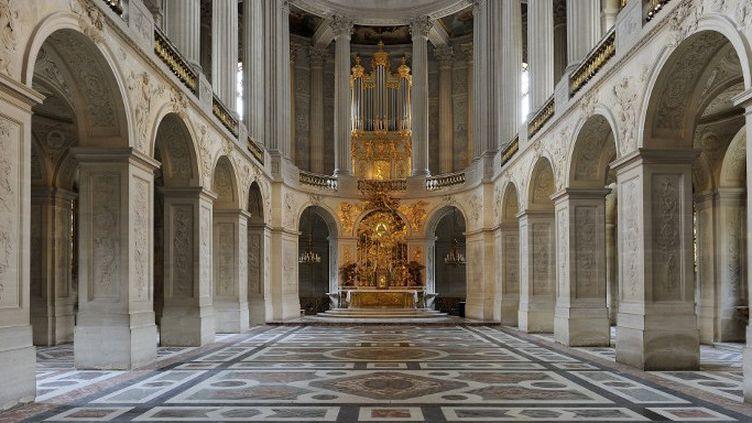 La nef de la Chapelle royale du château de Versaille  (TRIPELON-JARRY / ONLY FRANCE)