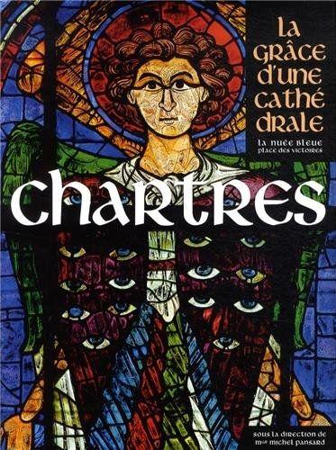 La couverture du livre consacré à Chartres  (Editions de la Nuée Bleue)