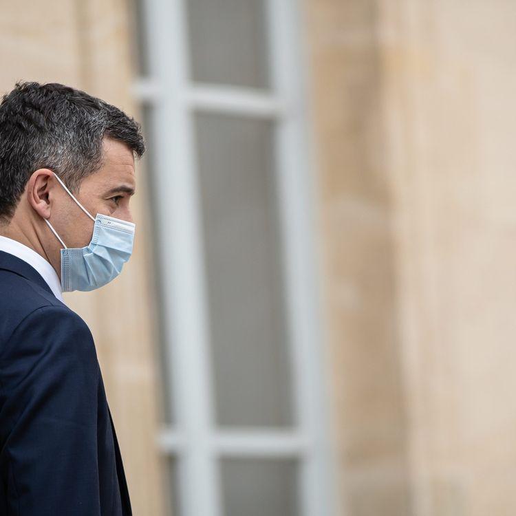 Le ministre de l'Intérieur Gérald Darmanin, le 3 février 2021 à l'Elysée, à Paris. (MAXPPP)