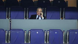 Le Président du Real Madrid, Florentino Perez,milite pour la création de la Super Ligue. (BURAK AKBULUT / ANADOLU AGENCY)