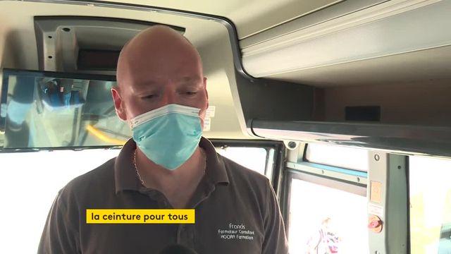 Dans le Var, les collégiens sensibiliser au port de la ceinture dans les bus