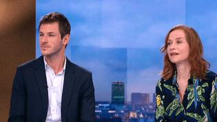 Gaspard Ulliel et Isabelle Huppert se retrouvent pour la deuxième fois devant la caméra.  (France 2 Culturebox)