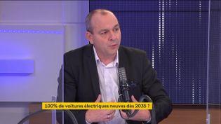 Laurent Berger, secrétaire général de la CFDT, était l'invité du 8h30 franceinfo le 30 juin 2021. (FRANCEINFO / RADIOFRANCE)