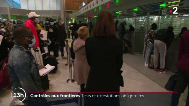 Coronavirus : les voyageurs face aux nouvelles règles aux frontières dans les aéroports