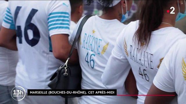 Marseille : la famille et les amis de Rayanne, adolescent tué dans une fusillade, lui rendent hommage