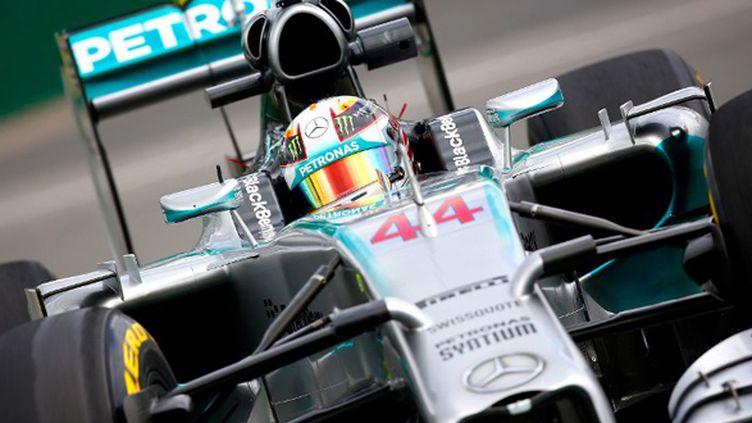 Lewis Hamilton a parfaitement géré la séance des essais libres. (TOM PENNINGTON / GETTY IMAGES NORTH AMERICA)