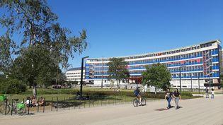 Le campus universitaire de Strasbourg. (CORINNE FUGLER / FRANCE-BLEU ALSACE (+ FB ELSASS))
