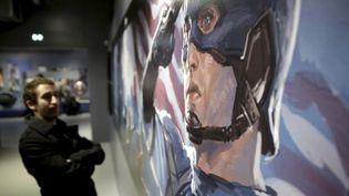 L'exposition consacrée aux supers héros américains au musée d'Art Ludique  ( LP/OLIVIER ARANDEL)