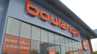 Un magasin Boulanger à Créteil (Val-de-Marne) le 25 avril 2012. (  MAXPPP)