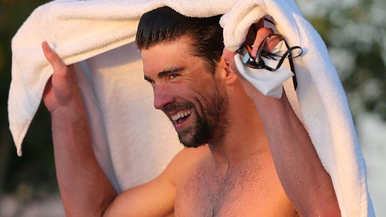 La nageur américain Michael Phelps (CHRIS CODUTO / GETTY IMAGES NORTH AMERICA)