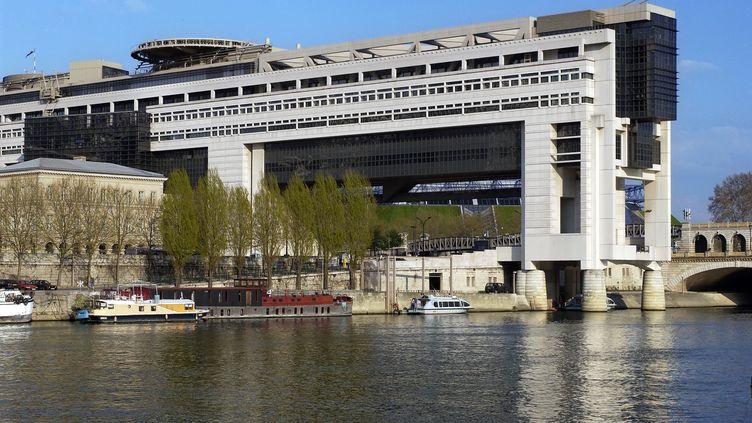 Le ministère de l'Economie, des Finances et de l'Industrie, à Paris. (BERTRAND GUAY / AFP)