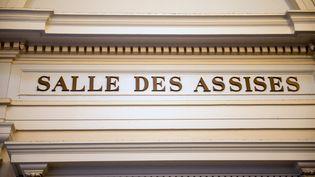 L'entrée de la salle des assises au tribunal de Saint-Omer (Pas-de-Calais), le 20 juin 2016. (PHILIPPE HUGUEN / AFP)