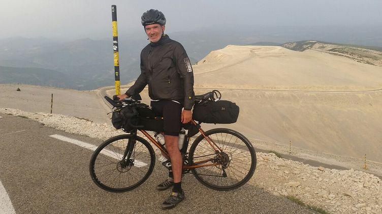 Patrick Miette s'apprête à traverser l'Europe à vélo