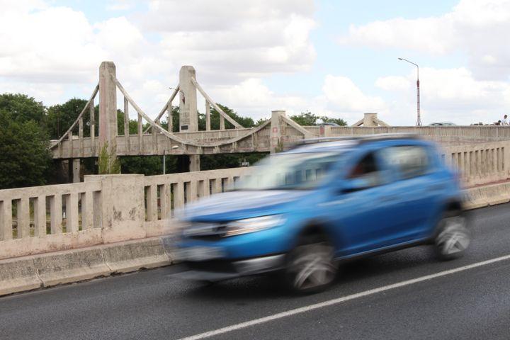 Le pont de Vaux, à Laon (Aisne), le 30 juillet 2019. (ROBIN PRUDENT / FRANCEINFO)