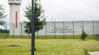 La prison de Condé-sur-Sarthe (Orne), le 12 juin 2019, où était détenu le jihadiste français Flavien Moreau à la fin de sa peine. (GUILLAUME SOUVANT / AFP)