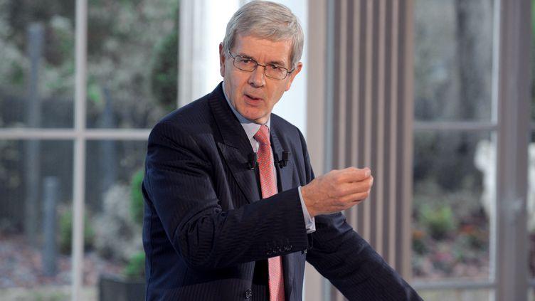 Philippe Varin, le 24 octobre 2012. (ERIC PIERMONT / AFP)