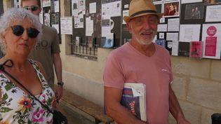 Annie et Michel, des habitués du festival  (Laurence Houot / culturebox)