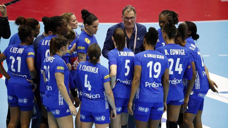 L'équipe de France féminine de handball au Championnat du monde 2019 (STEPHANE-PILLAUD)