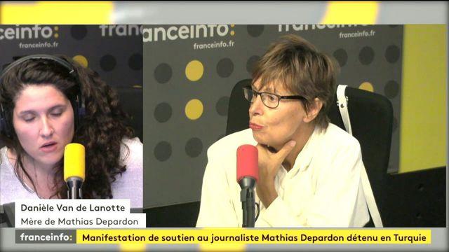 """Grève de la faim de Mathias Depardon : """"son cri d'appel (à la France) c'est 'sortez moi d'ici'"""