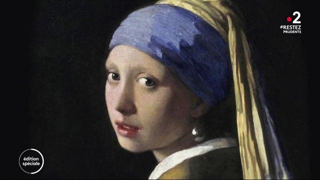 """Le choix du 20 heures : quels sont les secrets du tableau """"La Jeune Fille à la perle"""" ?"""