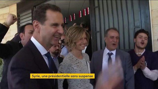 Syrie : Bachar al-Assad organise une présidentielle sans peur de perdre