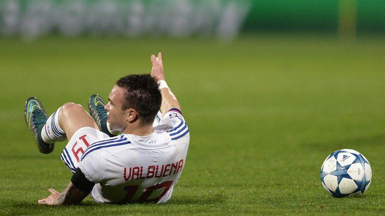 La situation de Mathieu Valbuena ne permet pas à Lyon de décoller (ALEXEI DANICHEV / RIA NOVOSTI)