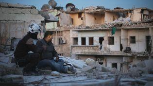 """Les derniers hommes d'Alep"" (""Last men in Aleppo"") de Firas Fayyad.  (Rise And Shine Cinema)"