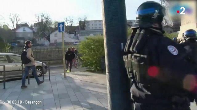 Violences policières : de nombreuses enquêtes confiées à l'IGPN