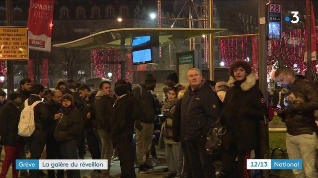 Grève des transports : la galère du réveillon à Paris