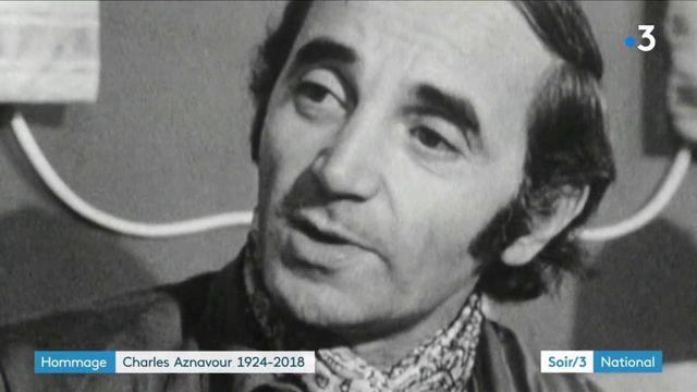 Mort de Charles Aznavour : une vie sur scène
