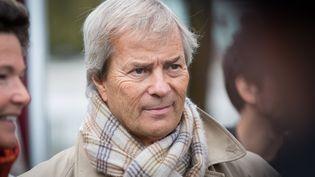 Le patron de Vivendi et du groupe Canal +, Vincent Bolloré, le 8 octobre 2014 à Paris. (MEIGNEUX /SIPA)