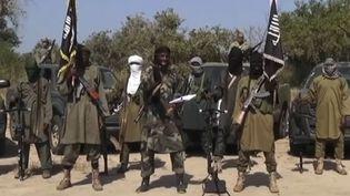 Capture d'écran d'une vidéo de Boko Haram diffusée le vendredi 31 octobre 2014. (BOKO HARAM / AFP)