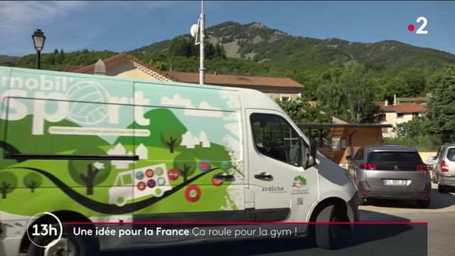 Ardèche : un gymnase ambulant sillonne les routes rurales