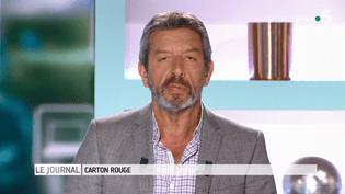 """Michel Cymès, le 27 juin 2018, sur le plateau du """"Magazine de la santé"""" de France 5. (FRANCE 5)"""