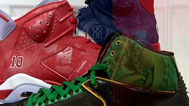 De toutes les couleurs et de toutes les formes les sneakers ont conquis la rue.  (France 3)