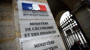 Le ministère de l'Économie et des Finances, quai de Bercy à Paris. (PIERRE ROUANET/MAXPPP)