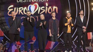 """Garou présente """"Destination Eurovision"""", le 20 janvier 2018 sur France 2. (FRANCE TELEVISIONS)"""
