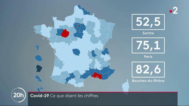 Coronavirus : ce que révèlent les chiffres sur l'épidémie en France
