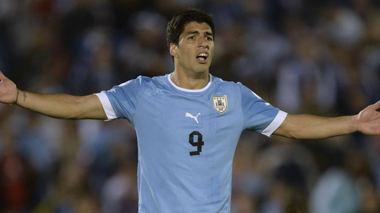 Luis Suarez (Uruguay) (PABLO PORCIUNCULA / AFP)
