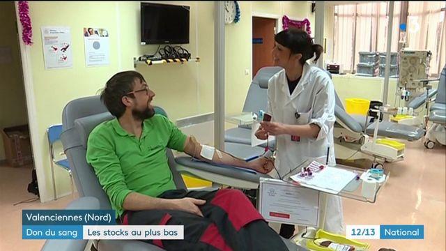 Don du sang : les stocks sont au plus bas