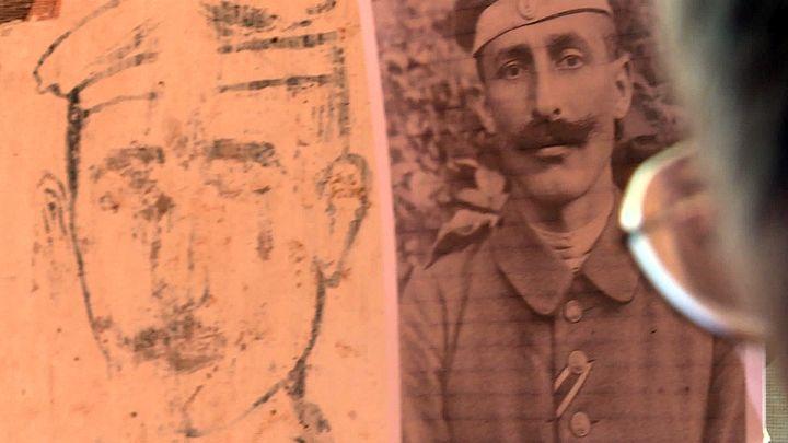 Le soldat était vraisemblablement Bavarois,peut-être un artilleurde labatterie installée à proximité de la maison (France 3 Grand Est)
