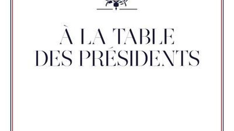 Le livre de Guillaume Gomez, À la table des Présidents. (CHERCHE MIDI)