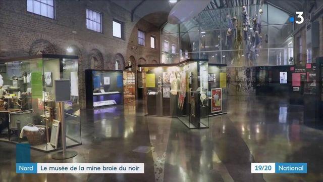 Nord :le musée de la mine de Lewarde broie dunoir