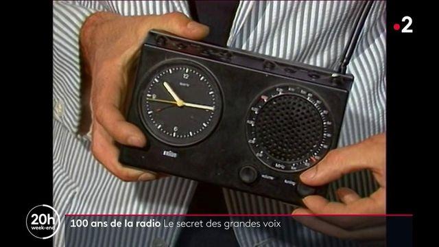 Centenaire de la radio : le secret des grandes voix