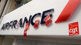 Agence d'Air France à Lille. (BAZIZ CHIBANE / MAXPPP)