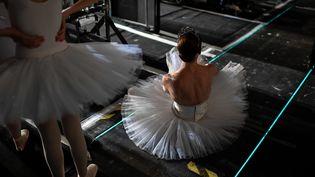 Gala annuel de l'Opéra de Paris en septembre 2018 (STEPHANE DE SAKUTIN / AFP)