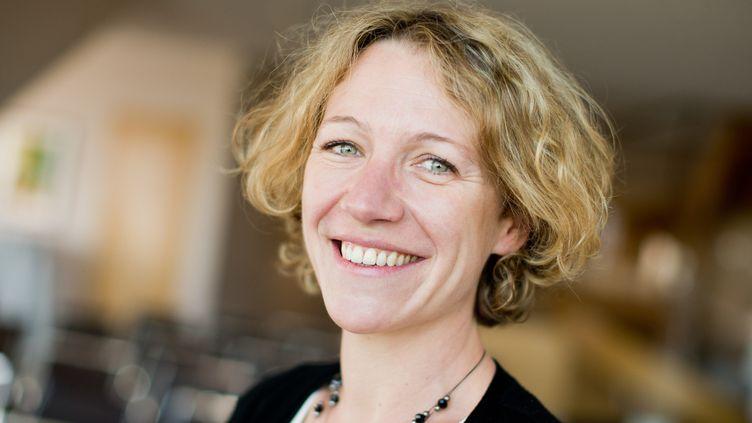 La romancière Anne-Laure Bondoux, ici en 2014.  (ROLF VENNENBERND / DPA)